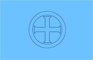 крест+фон